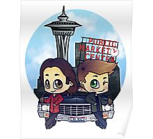 Winchesters in Seattle Poster