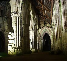 A Night at Tintern Abbey ~ Wye Valley, Monmouthshire 2009 by Samantha Creary