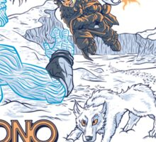 Chrono Throne Sticker