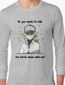 N Harmonia wants to take you for a ride Long Sleeve T-Shirt