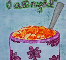 Macaroni Power Trip by SequinPalette
