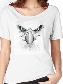 Eagle Face Women's Relaxed Fit T-Shirt