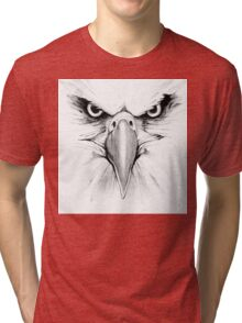 Eagle Face Tri-blend T-Shirt