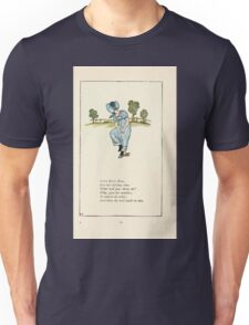 Mother Goose or the Old Nursery Rhymes by Kate Greenaway 1881 0037 Little Betty Blue Unisex T-Shirt