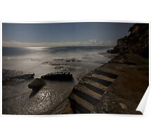 high tide - dee why  Poster