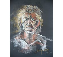 John Sheperd- an 8 minute portrait Photographic Print