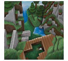 Realistic Minecraft World by ZC Design Studios