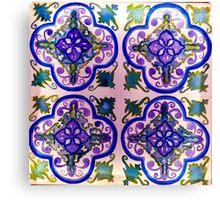 Eco Azulejo Canvas Print