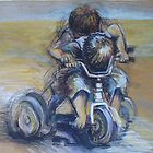 A boy and his trike by degillett