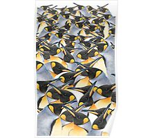 King penguin mob Poster