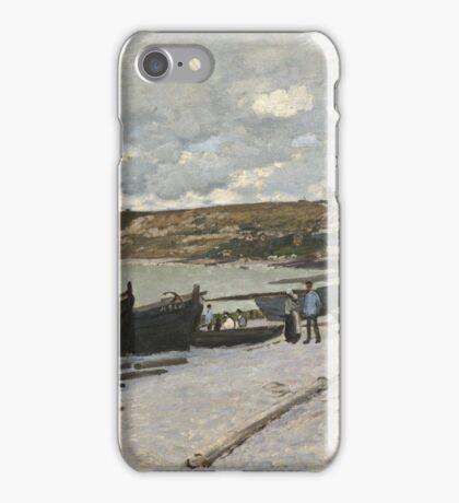 Seascape at Port-en-Bessin, Normandy iPhone Case/Skin