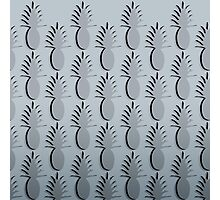 Pineapple Lines - silver Photographic Print