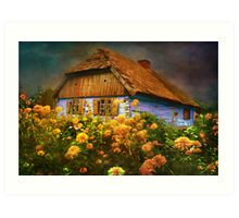 Museum of the Polish countryside. Sierpc.. Art Print