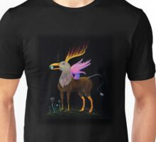 ill Eagle, Surreal Inverted Crayola Colored Pencil Drawing Unisex T-Shirt