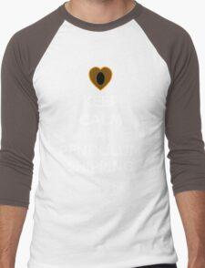 Keep Clam and Pendulumshipping! Men's Baseball ¾ T-Shirt