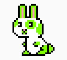 Green Spotted Pixel Bunny  Unisex T-Shirt