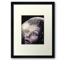 What the Astronaut Saw Framed Print