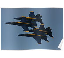 Blue Angels - Up & Away Poster