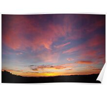 Morning Clouds Poster