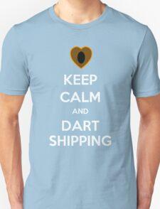 Keep Calm and Dartshipping! Unisex T-Shirt
