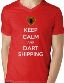 Keep Calm and Dartshipping! Mens V-Neck T-Shirt