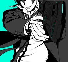 Psycho Pass - Shinya Kogami  by nehetaki