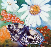 Butterflys and Daiseys by Heidi Mooney-Hill