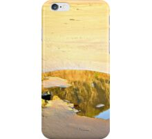 Reflection on Sand iPhone Case/Skin