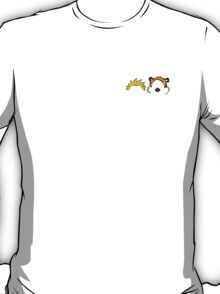 Calvin and Hobbes head T-Shirt