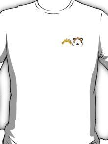 Calvin and Hobbes head T-Shirt