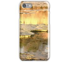 Glowing reflection iPhone Case/Skin