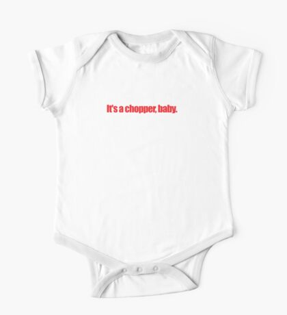Pulp Fiction - It's a chopper baby One Piece - Short Sleeve