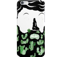 Cactus Beard Dude iPhone Case/Skin