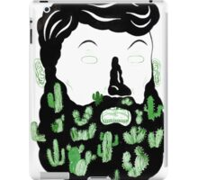 Cactus Beard Dude iPad Case/Skin