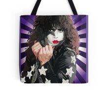 Kiss Paul Stanley vector pop art Tote Bag