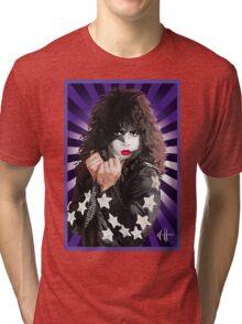 Kiss Paul Stanley vector pop art Tri-blend T-Shirt