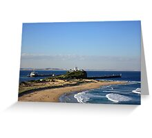 View To Nine Mile Beach Greeting Card
