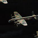 Lancaster.....close company........! by Roy  Massicks