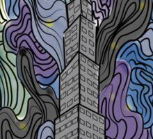 city night Sticker
