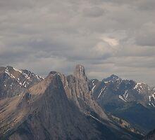 Banf Peaks by JimSanders