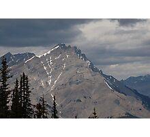 Banf Peak Photographic Print