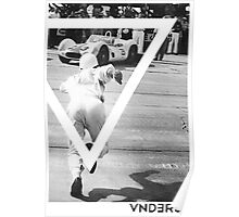 VNDERFIFTY RACE CAR Poster