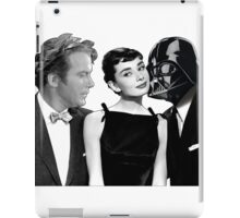 Audrey Hepburn Chooses Between Darth Vader & Captain Kirk iPad Case/Skin