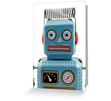 Robot Portrait 1 Greeting Card