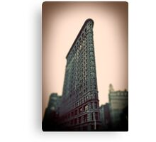 Flat Iron Building - NYC Canvas Print