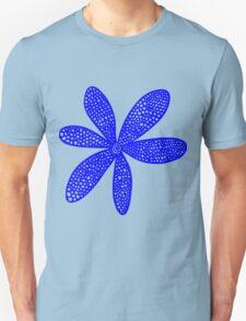 Pretty Flower - Blue T-Shirt