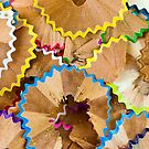 Pencil Shavings by friendlydragon