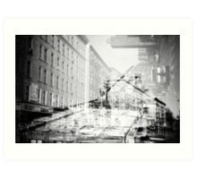 NYC Double time Art Print