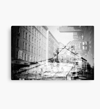 NYC Double time Canvas Print