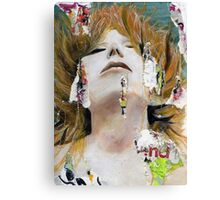 She Was Always Exciting Canvas Print